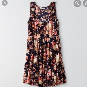 American Eagle Tiered Baby Doll Dress